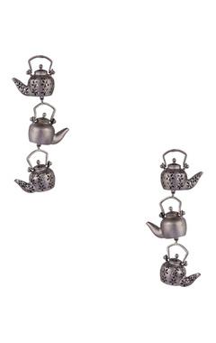 Khushi Jewels Antique teapot motif long earrings