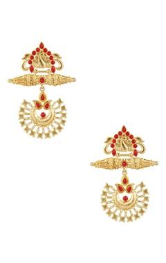 POSH By Rathore Long dangling festive earrings