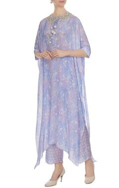 Ritika Mirchandani Lilac printed kurta with pants