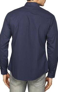 Classic navy blue shirt