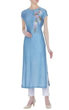 Joy Mitra Thread work embroidered tunic