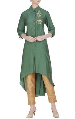 Joy Mitra Asymmetric hemline tunic
