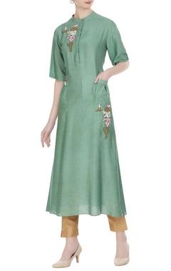 Joy Mitra Long tunic with utility pockets