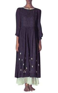Myoho Tunic with puffed sleeves & inner dress