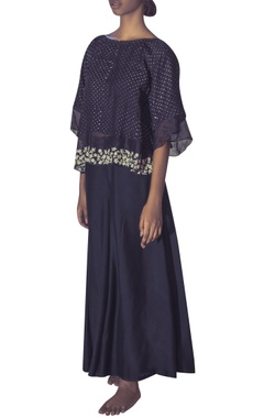 Myoho Double layered hand embroidered blouse