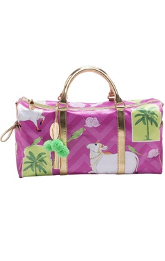 Casa Pop Pink digital printed handbag