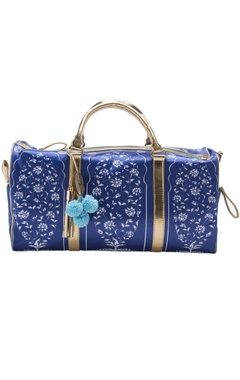 Casa Pop Royal blue digital printed handbag