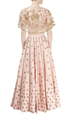 Light pink embroidered lehenga set