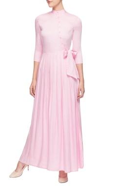 Pallavi Kandoi Light pink full length dress