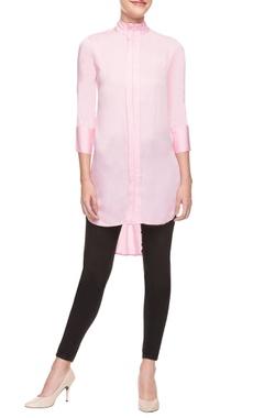 Pallavi Kandoi Pink asymmetric tunic