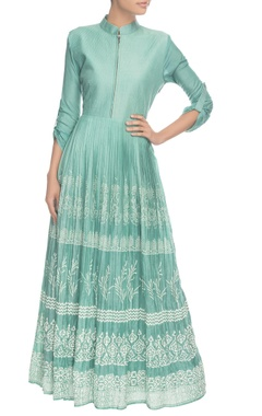 Sky blue long kurta