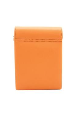 orange japanese beadwork clutch