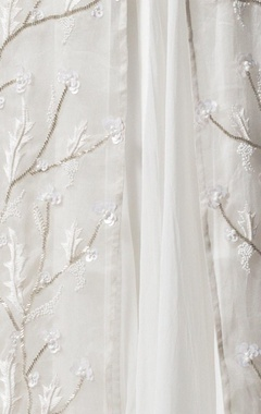Ivory embroidered jacket
