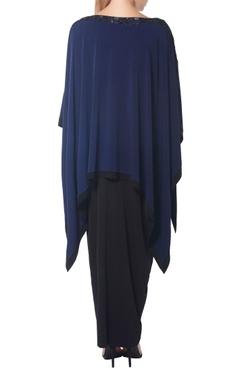 Black dhoti skirt