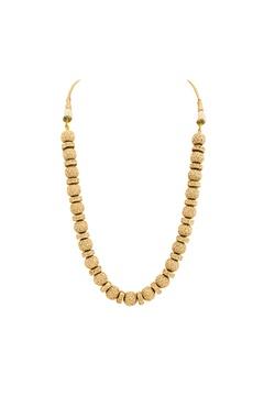 Gold pearl studded neckpiece