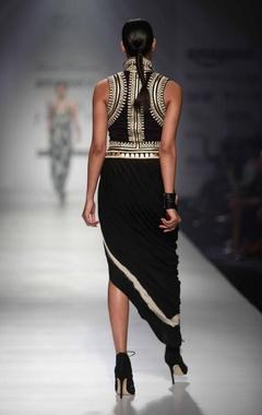 Black & gold gypset waistcoat