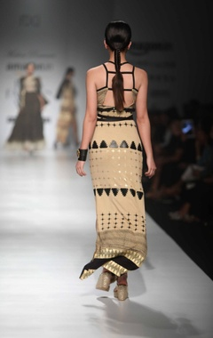 Multi-colored Cleopatra dress