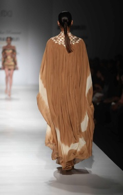 Beige desert spirit kaftan dress