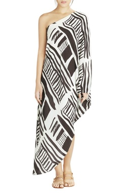 white one shoulder maxi dress