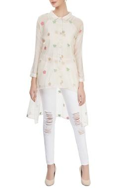 Off-white embellished shirt