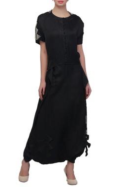 Black lungi skirt