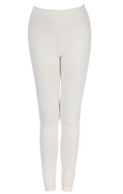 White long leggings