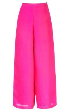 Hot pink palazzo pants