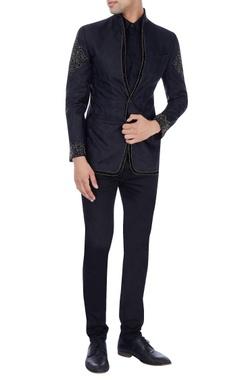 Black jacket with beadwork