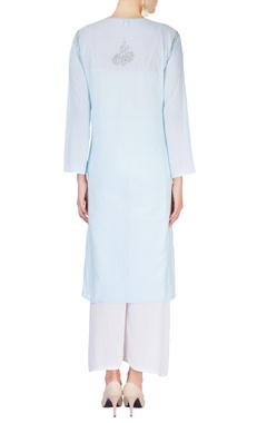 Light blue kurta with sequin