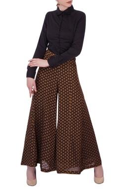 Brown palazzo pants