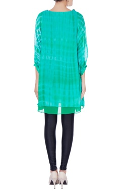 Blue & green dyed tunic