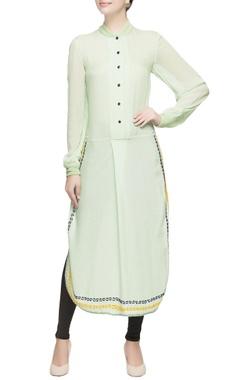 Light green long kurta
