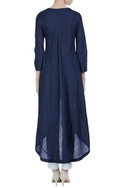 Asymmetric layered tunic.