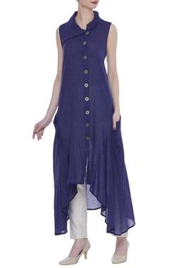 Rriso Cotton asymmetric style shirt kurta