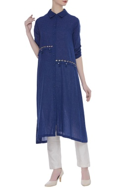 Rriso Button down tunic with embellishments