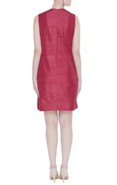 Cutout work short dress