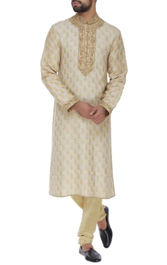 Barkha 'N' Sonzal Paisley & dori embroidered kurta set