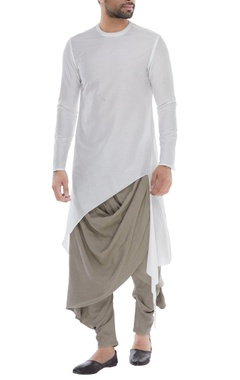 Antar-Agni Draped layered pants