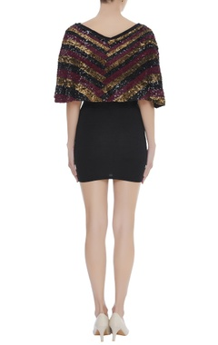 Sequin Embroidered Cape