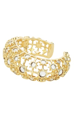 Celeste mirror dome cocktail cuff bangle