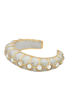 Celeste sheer mirror work cuff bangle