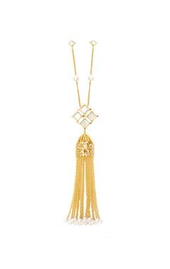 Isharya Celeste tassel detail long necklace