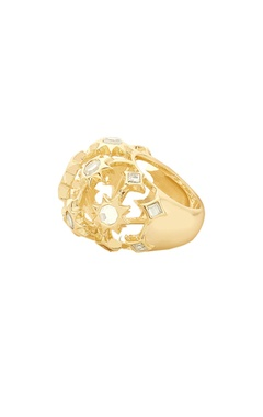 Statement bubble ring