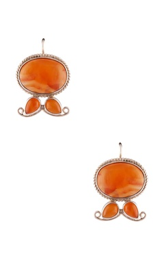 Vivid crystal stud earrings