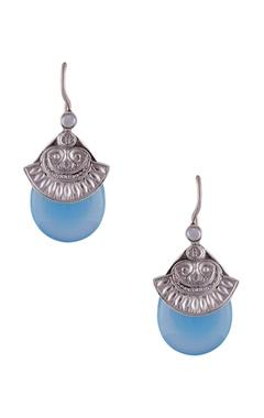 Grecian style stone earrings