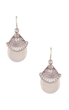 Grecian style mini dangler earrings