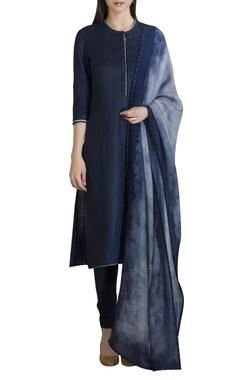 AM:PM Linen straight kurta set