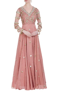 Bhumika Sharma Sequin embroidered anarkali gown