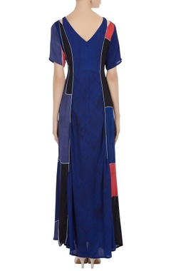 Fitted long maxi dress