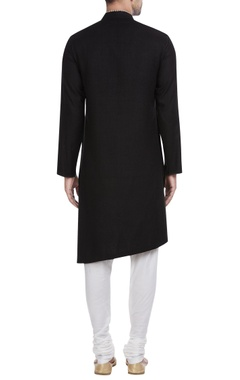 Overlap style kurta with churidar